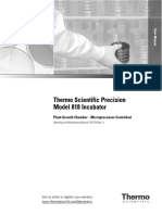 Precision Plant Growth Chamber Thermo Scientific User Manual 041416170803