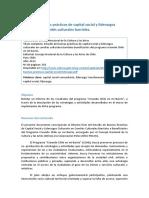 41 Estudio de Buenas Prácticas de Capital Social y Liderazgos Culturales en Comités Culturales Barriales (Jle)