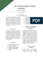 Ingeniería de sistemas y MedioAmbiente