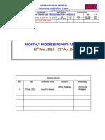 DOR-MER-PMT-RPT-0059_QIT DORMS Project April 2019 Monthly Progress Report-Rev. B