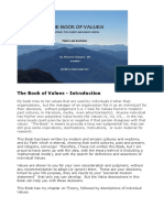 The Book of Values PDF Aug 19