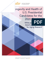 AFAR WhitePaper Longevity and Health of Presidential Candidates for the 2020 Election Public 07.26.19