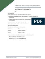 Estudio Topografico Dv. HUANCANE - CHUPA