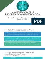 PSP en la educación