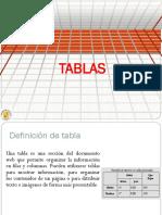 Clase Tablas