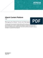 HCP v7 3 0 Managing the Default Tenant and Namespace MK-99ARC024-14