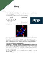 lista de exercicios geometria molecular e forças intermoleculares
