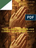 la promesa de oraciom