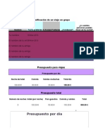 Práctica de Excel