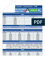 Tabela Plano de Saude Empresarial Amil Saude Rj