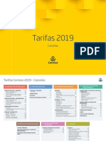 Tarifas 2019 Canarias