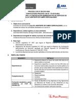 PROCESO CAS N° 306-2019-ANA