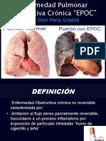 Enfermedad Pulmonar Obstructiva Crónica  a presentar