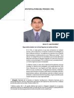 LA ETAPA POSTULATORIA DEL PROCESO CIVIL.  AUTOR. DR. JANNER  A. LOPEZ  AVENDAÑO