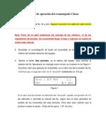 Operacion Cromatografos Perkin Act2016