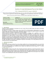 Measuring Thermal Conductivity of Certain Solid Industrial Waste by Box Method