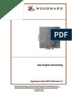 Gas Engine Governing - Woodward