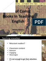 Use of Comic Books for Teaching English