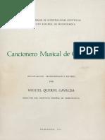 Querol - Cancionero Musical de Góngora