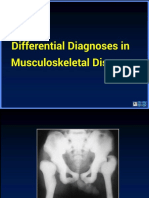 Differential Diagnosis in Musculoskeletal Disease