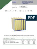 FIltro Bolsa Sintetico PFS