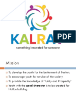 Kalrav NGO Gujarat e Broucher