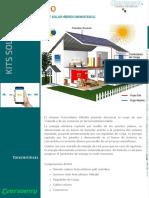 Kit Inverter Hibridos Monofasico