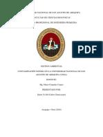 Informe de Contaminacion Sonora
