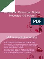 138520303 Kebutuhan Cairan Dan Nutrisi Neonatus 0 6 Bulan
