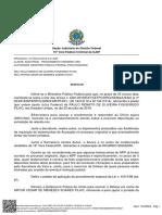 Despacho sobre a prisão de Paulo Figueiredo