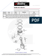 446785500 - Connecting Rod and Piston