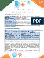 Guía Actividades y Rúbrica Evaluación Tarea 5 Desarrollar Evaluación Nacional.