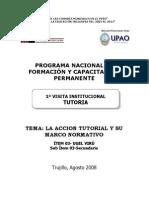 MODULO 1° VISITA INSTITUCIONAL UPAO juanportales