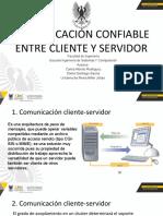 Comunicación Confiable Entre Cleinte y Servidor