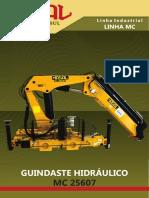 Panfleto Guindaste Hidrualico Madal MC 25607