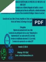 Curso Qhse Agosto 2019