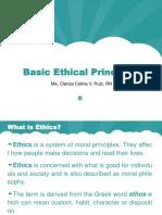 Basic Ethical Principles in Nursing