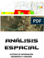 ANÁLISIS ESPACIAL