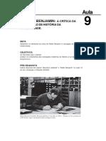 Walter Benjamin- A Crítica Da Concepção de História Da Modernidade