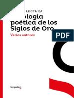 Guia de Lectura Antologia Poetica de Los Siglos de Oro