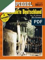 Der Spiegel - Magazin 2010 39 Mini - Geheimakte Deutschland - Wie Europa Die Einheit Verhindern Wollte