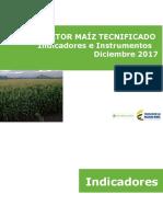 002 - Cifras Sectoriales - 2017 Diciembre Maíz Tecnificado