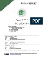 Excel2016 Level1 Final