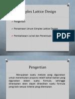 T_ sp IV Pertemuan_4_-_Simplex_Lattice_Design.pdf