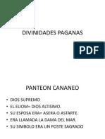 DIVINIDADES PAGANAS