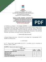 Edital SeleçÃo PPGE 2019 Retificado