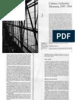 Cultura e Industria, Alemania 1907-1914 - C.alan Una Historia Desapacionada de La Modernidad