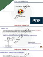 Properties of natural gas