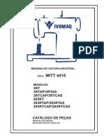 Maquina de coser MITT 4410