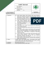 SPO Penanganan Audit Internal